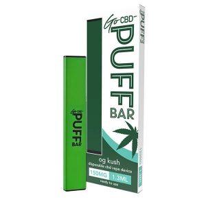 OG Kush Go CBD Puff Bar Disposable Vape Device