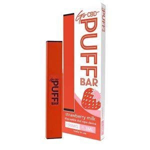 Strawberry Milk Go CBD Puff Bar Disposable Vape Device